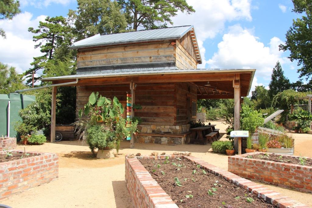 Tobacco Barn at Brody Discovery Garden at Duke Gardens